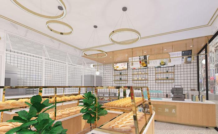 上海赫铭展柜---不二原麦(北京店)