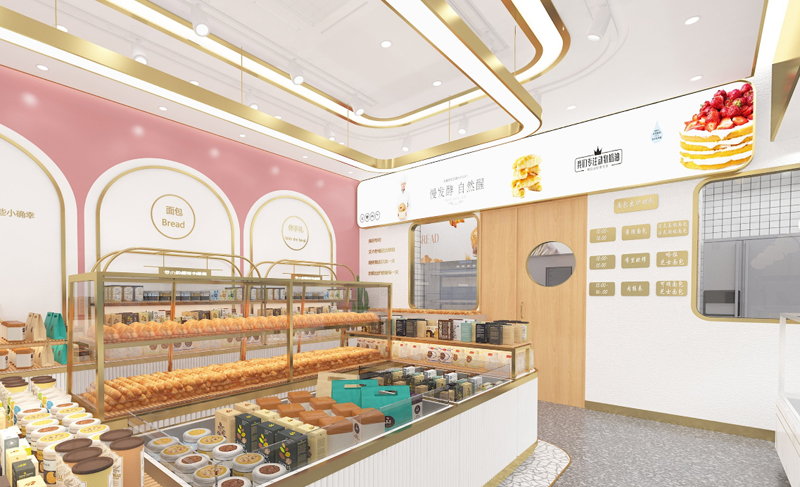 上海赫铭展柜--柠檬活力烘焙